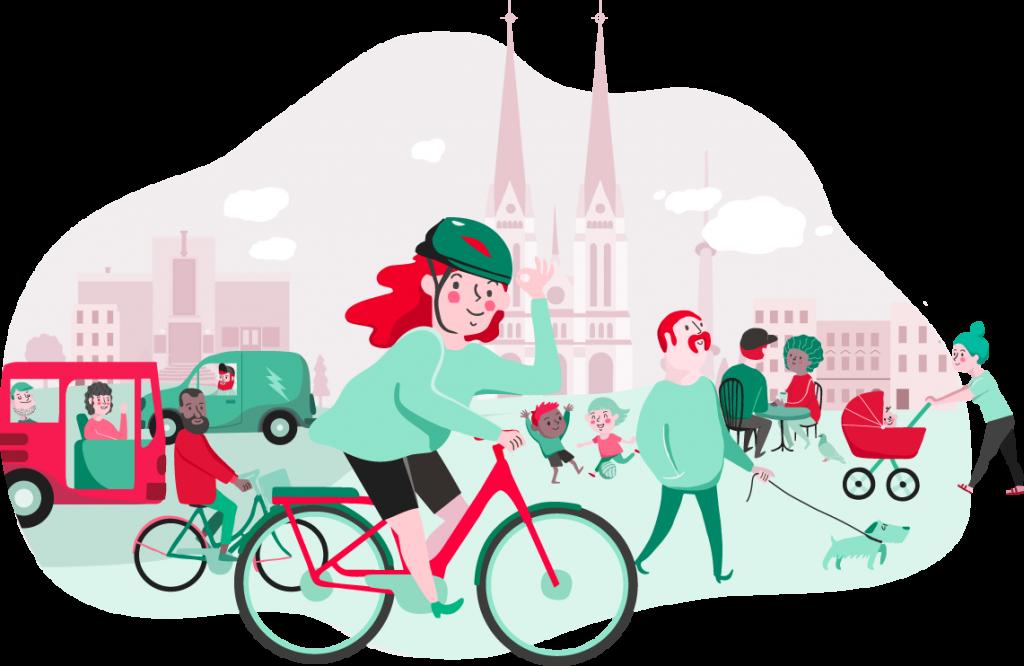 Lån en el-sykkel