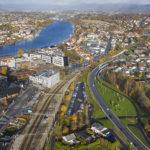 Penger til byvekstavtale i Grenland og riksveg 36 i Nasjonal transportplan 2022-2033