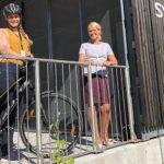 Nå kan du parkerer sykkelen gratis på sykkelhotellet ved Landmannstorget
