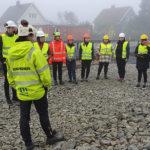 Bygningsingeniørstudenter fikk undervisning ved Tuftekrysset