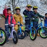 Pedalsykler i barnehagen